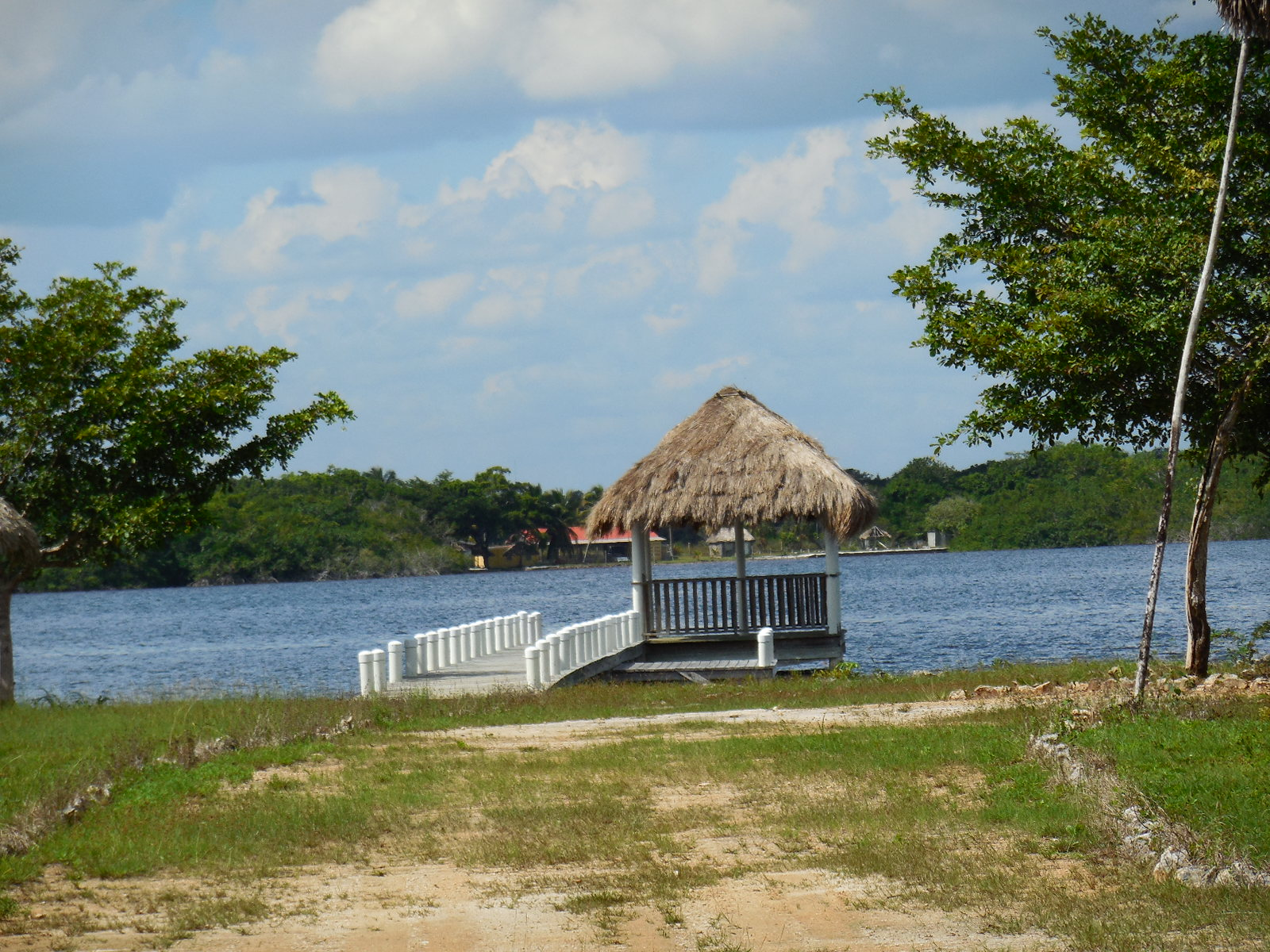 Belize Waterfront Property for Sale on the 4-Mile Lagoon
